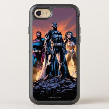 Superman, Batman, & Wonder Woman Trinity OtterBox Symmetry iPhone 8/7 Case