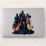 Superman, Batman, & Wonder Woman Trinity Sticker