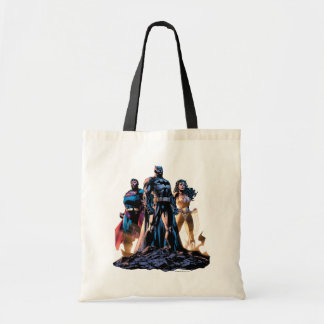 Superman, Batman, & Wonder Woman Trinity Tote Bag