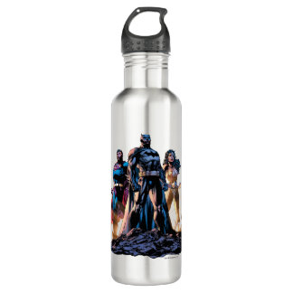 Superman, Batman, & Wonder Woman Trinity Water Bottle