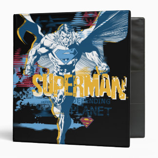 Superman Bio Design Vinyl Binders