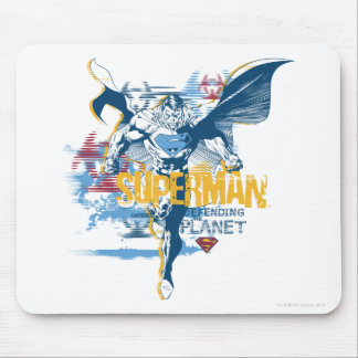 Superman Bio Design Mouse Pad