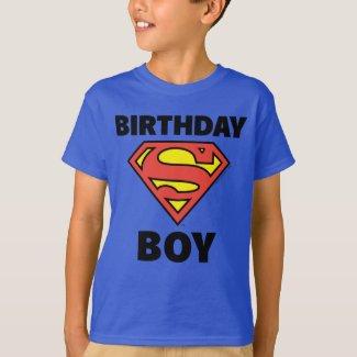 Superman | Birthday Boy - Name & Age T-Shirt