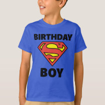 Superman | Birthday Boy - Name & Age T-Shirt