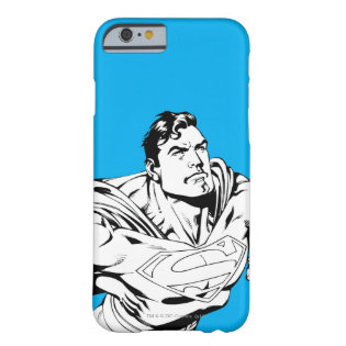 Superman Black and White 1 Barely There iPhone 6 Case