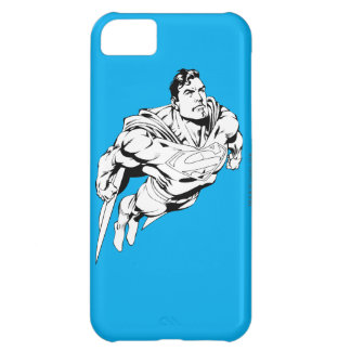 Superman Black and White 1 Case For iPhone 5C