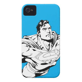 Superman Black and White 1 iPhone 4 Covers