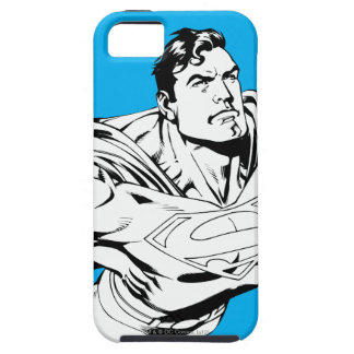 Superman Black and White 1 iPhone SE/5/5s Case