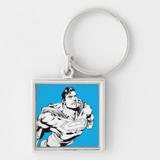 Superman Black and White 1 Key Chains