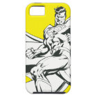 Superman Black and White 2 iPhone SE/5/5s Case
