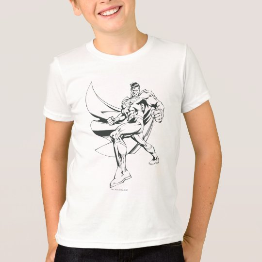 Superman Black and White 2 T-Shirt