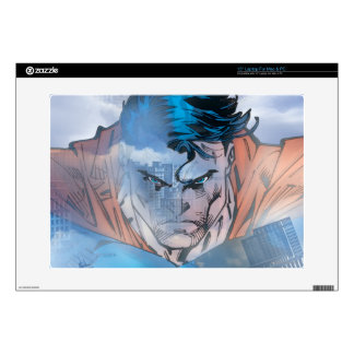 "Superman - Blue Decal For 15"" Laptop"