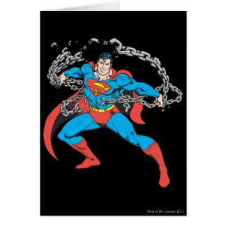Superman Breaks Chains 2 Card