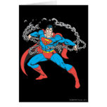 Superman Breaks Chains 2 Cards
