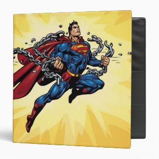 Superman breaks chains binder