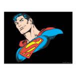 Superman Bust 3 Postcard