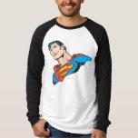 Superman Bust 3 T Shirt