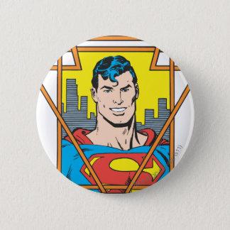 Superman Bust Pinback Button