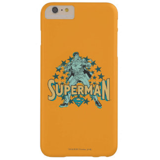Superman changes with stars barely there iPhone 6 plus case