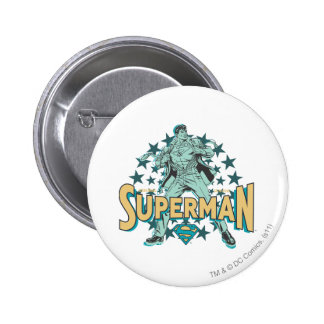 Superman changes with stars button