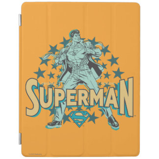Superman changes with stars iPad cover