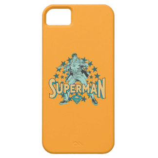 Superman changes with stars iPhone 5 case