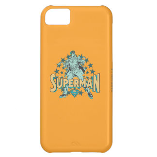 Superman changes with stars iPhone 5C case