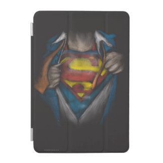 Superman | Chest Reveal Sketch Colorized iPad Mini Cover