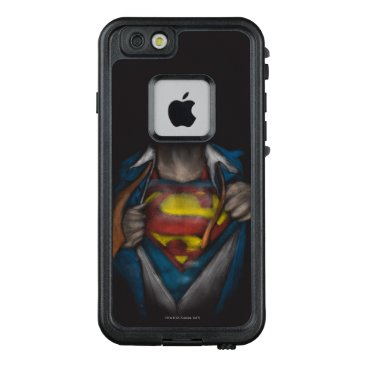 USA Themed Superman | Chest Reveal Sketch Colorized LifeProof FRĒ iPhone 6/6s Case