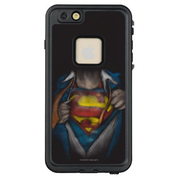 USA Themed Superman | Chest Reveal Sketch Colorized LifeProof FRĒ iPhone 6/6s Plus Case