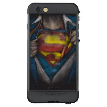 Superman | Chest Reveal Sketch Colorized LifeProof NÜÜD iPhone 6s Plus Case