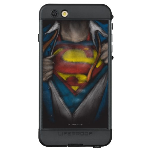 Superman   Chest Reveal Sketch Colorized LifeProof NÜÜD iPhone 6s Plus Case