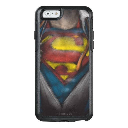 Superman | Chest Reveal Sketch Colorized OtterBox iPhone 6/6s Case
