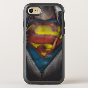 Superman | Chest Reveal Sketch Colorized OtterBox Symmetry iPhone 8/7 Case
