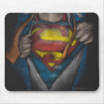 Superman Chest Sketch 2 Mousepads