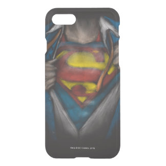 Superman Chest Sketch iPhone 7 Case