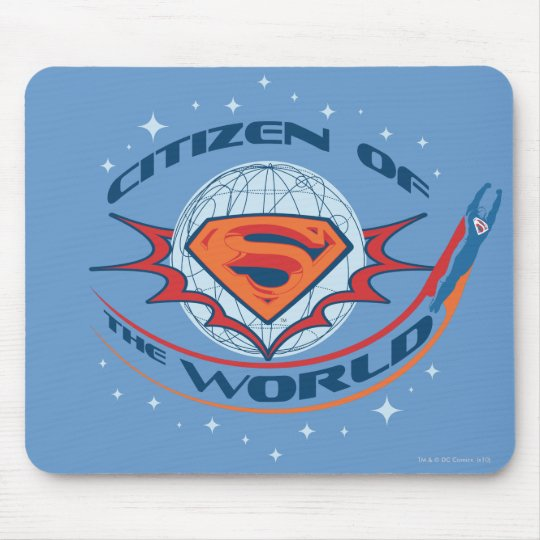 Superman Citizen of the World Mouse Pad
