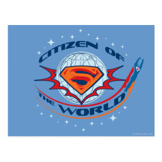 Superman Citizen of the World Postcard