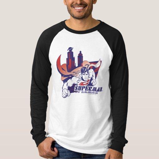 Superman City and Name Tshirts