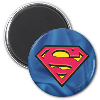 Superman Classic Logo 2 Inch Round Magnet