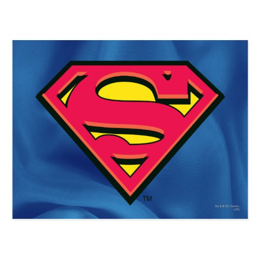 Superman Classic Logo Post Cards