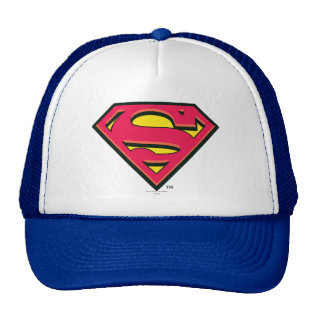 Superman Classic Logo Trucker Hat