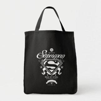Superman Coat of Arms Canvas Bag