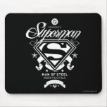 Superman Coat of Arms Mouse Pad