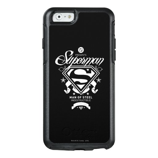 Superman Coat of Arms OtterBox iPhone 6/6s Case