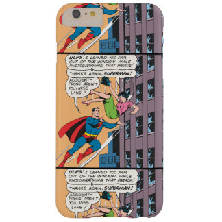 Superman Comic Panel - Accident-Prone Lois Barely There iPhone 6 Plus Case