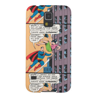 Superman Comic Panel - Accident-Prone Lois Galaxy S5 Cover