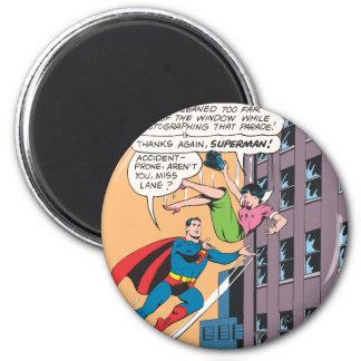 Superman Comic Panel - Accident-Prone Lois Magnet