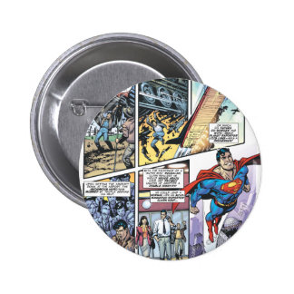 Superman Comic Panel - Clark's Origins 2 2 Inch Round Button