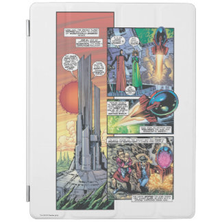 Superman Comic Panel - Clark's Origins iPad Smart Cover